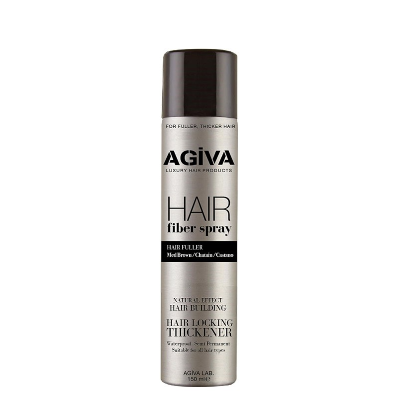 HAIR FIBER SPRAY BROWN 150ML