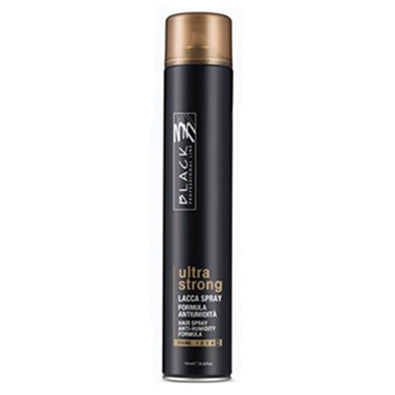 LACCA ULTRA STRONG BLACK 75ML