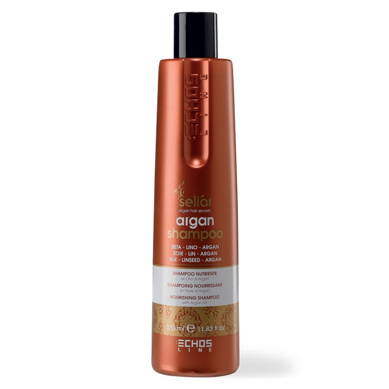 ARGAN SHAMPOO - SHAMPOO NUTRIENTE ALL'OLIO DI ARGAN 350ML